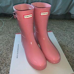 NWOT Hunter Rainboots (PINK)